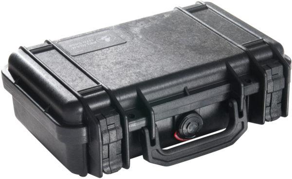1170 Pelican  Watertight  Case, ID=10.54″ L x 6.04″ W x 3.16″ D