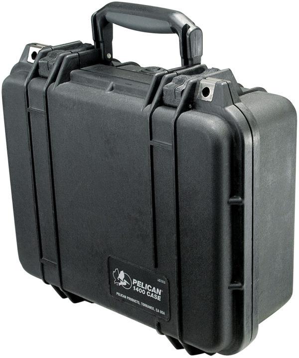 1400 Pelican Case (ID: 11.81″ L x 8.87″ W x 5.18″ D)