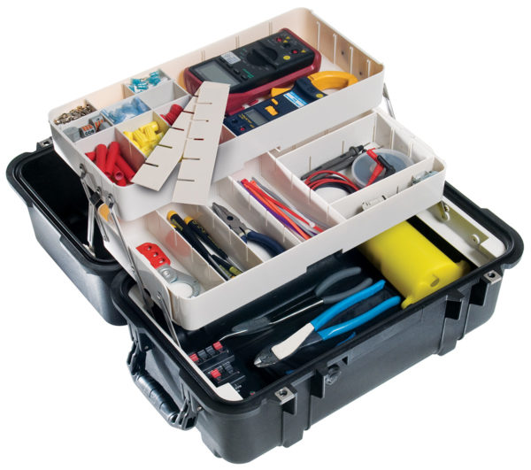 1460TOOL  Pelican Tool Case ID: 18.54″L x 9.92″W x 10.92″D