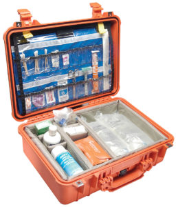 1500EMS Pelican EMS Case ID: 16.75″ L x 11.18″ W x 6.12″ D