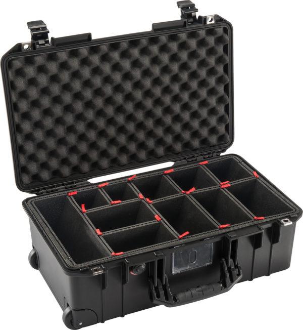 1535AIR-TP TrekPak Case, ID: 20.39″ L x 11.20″ W x 7.21″ D