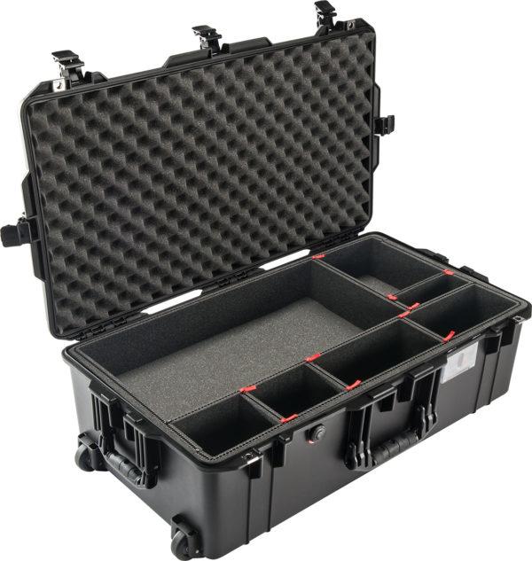 1615AIR-TP TrekPak Case, ID: 29.59″ L x 15.50″ W x 9.38″ D