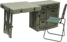 472-FLD-DESK-TA Field Desk w/ Chair