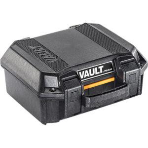 V100 Pelican Vault Case, INTERIOR (L X W X D) 11.00″ x 8.00″ x 4.50″