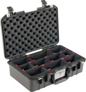1485AIR-TP Pelican TrekPak Case, ID: 17.75″ L x 10.18″ W x 6.15″ D