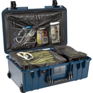 1535TRVL Pelican Air Travel Case, ID: 20.39″ L x 11.20″ W x 7.21″ D