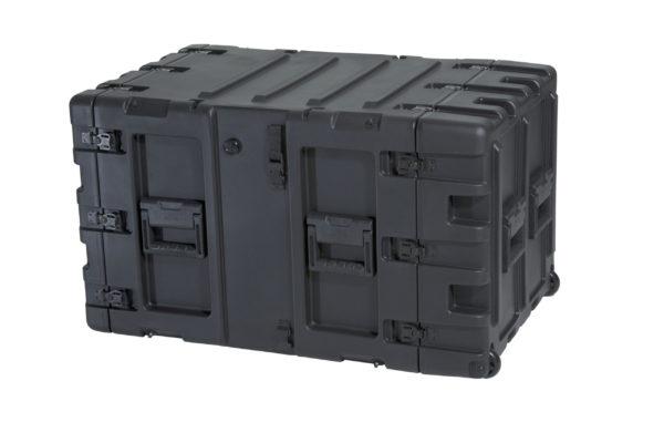 3RR-9U24-25B, SKB 24 IN Deep Removable Shock Rack Case