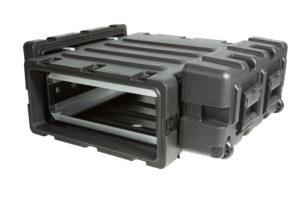 3RR-3U24-25B, SKB 24 IN Deep Removable Shock Rack Case