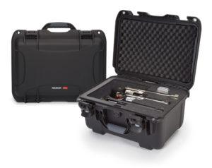 925, 4 -UP Nanuk Gun Case, ID: 17.0″ L  x 11.8″ W  x 6.4″ D