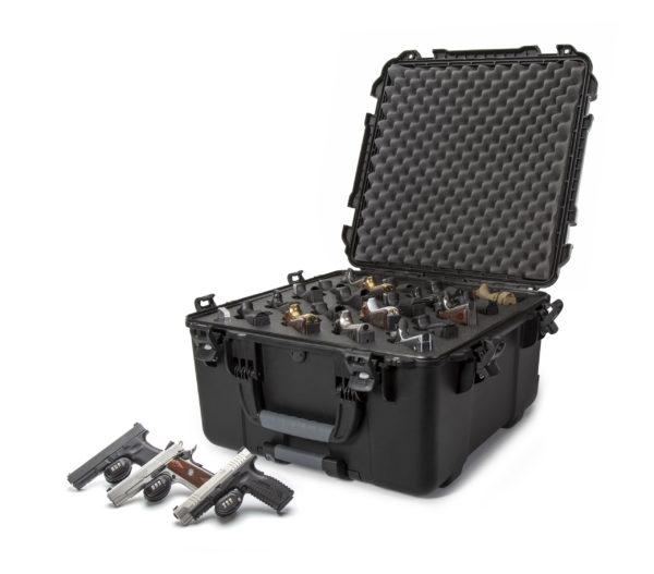 968, 20-UP Nanuk Gun Case, ID: 21.5″ L x 21.5″ W x 11.8″ D