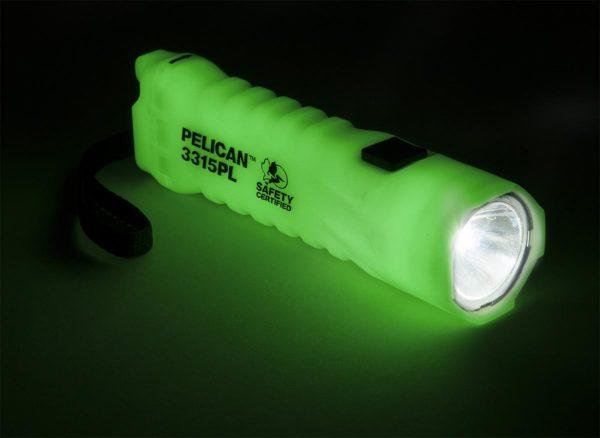 3315PL Photoluminescent Flashlight